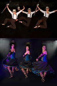 CanCan - 20er Jahre - Bourlesque - Tango Tanzshows