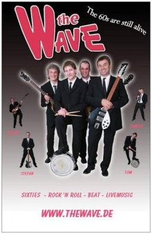 THE WAVE Beatles Sixties Live PartyBand Heidelberg
