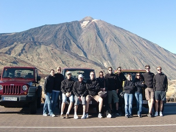 Jeep Rallye am Teide